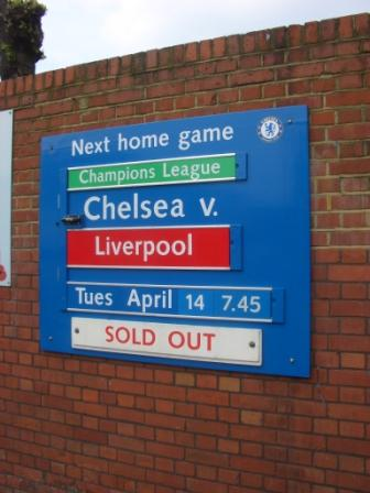 Chelsea London - Liverpool FC