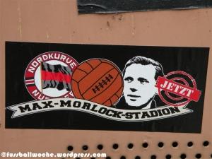 Aufkleber Max-Morlock-Stadion