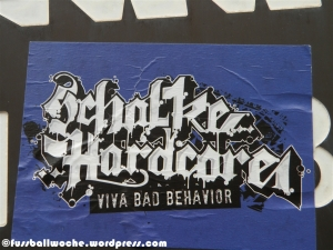 Aufkleber Schalke Hardcore