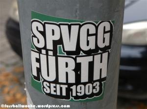 """Aufkleber """"SpVgg Fürth seit 1903"""""""