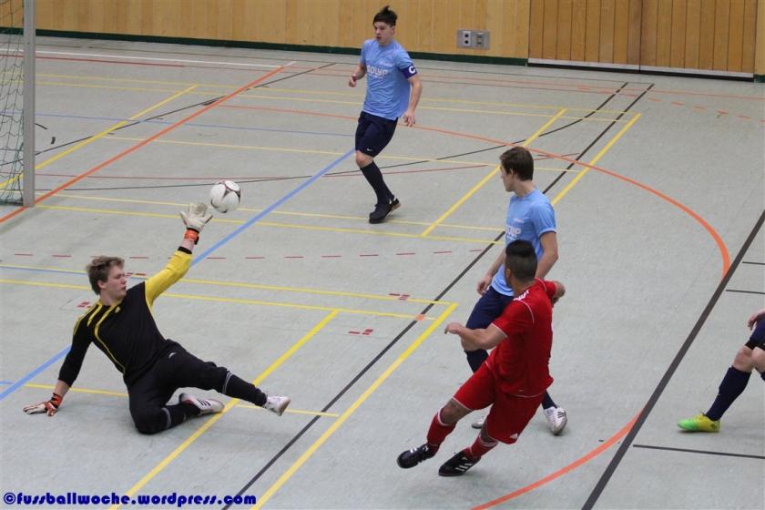 Türkischer SV Gostenhof - SG Quelle Fürth beim Burgpokal 2013 in Nürnberg.