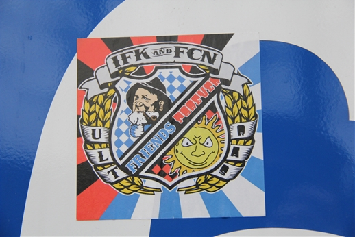 Ultras IFK and FCN - Friends forever.