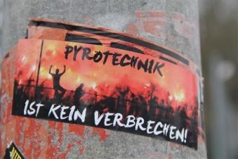 """""""Pyrotechnik ist kein Verbrechen!"""""""