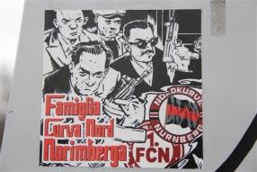 """Famiglia Curva Nord Norimberga"" (Nordkurve Nürnberg)"