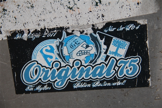 "Original 75 - ""Ein Mythos - Sektion Stadionverbot"""