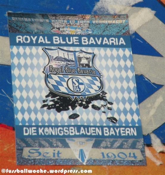 """Aufkleber """"Royal Blue Bavaria"""""""