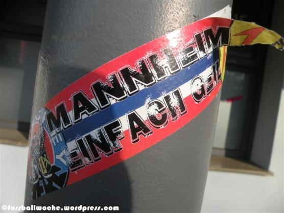"""Aufkleber """"Mannheim - Einfach geil (Eishockey)"""