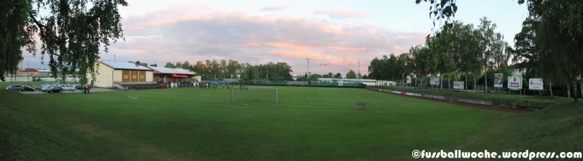 Panorama Sportanlage ATSV Erlangen.