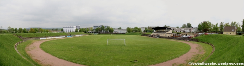 Panorama FC-Stadion Bayreuth