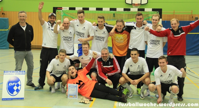 Die Siegermannschaft des TSV Nürnberg-Buch.